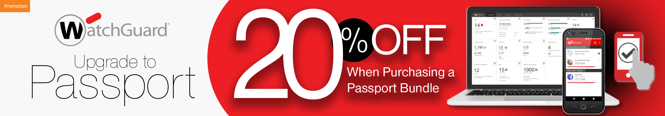 WatchGuard Upgrade to Passport Promotion